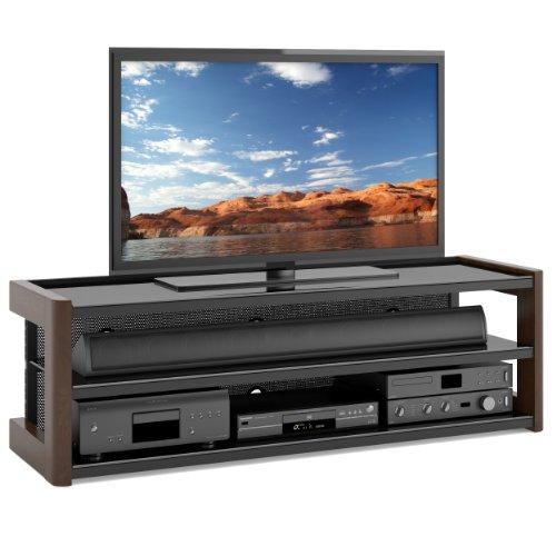 Sonax B-051-LMT Milan 60-Inch Quick Click TV/Component Bench