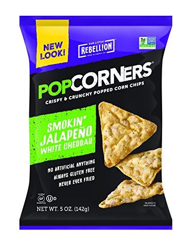 Popcorners (Smokin' Jalapeno & White Cheddar, 5 oz-Pack of 12) (Popcorner Jalapeno)