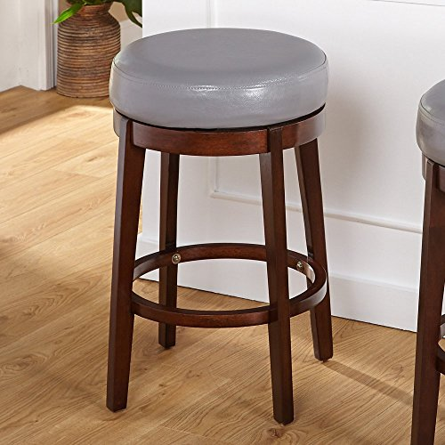 Target Marketing Systems 24 in. Avenue Swivel Bar Counter Stool