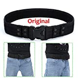 Yahill Yahill Security Tactical Combat Belt Utility Gear Adjustable Heavy Duty Police Military Equipment for Outdoor