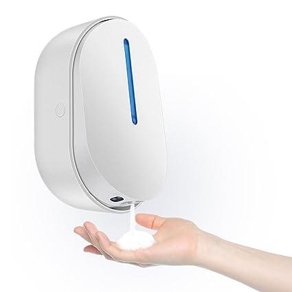 Dispensador de jabón dispensador de Burbujas de inducción automático Lavadora de Pared Botella de jabón de