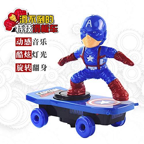 Amazon.com: Supertech Spider-Man - Patinete eléctrico para ...