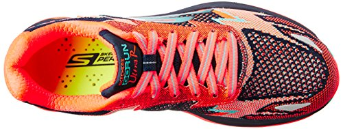 SkechersGo Run Ultra R - Road - Zapatillas de running mujer Naranja (Nvcl)