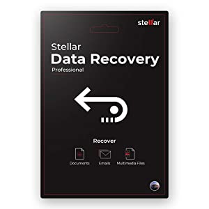 Stellar Data Recovery Software   for Mac   Professional   Recover Deleted Data, Photos, Videos  1 PC 1 Yr   Activation Key Card