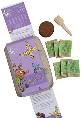 Flutterby Butterfly Garden Heirloom Starter Seed Kit