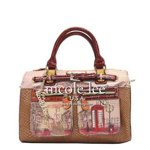 nicole-lee-claire-collection-blocked-print-boston-bag