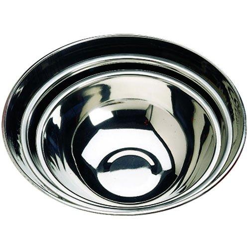 Tablecraft (H830) 20 qt Stainless Steel Heavyweight Mixing Bowl Heavyweight Stainless Steel Bowl