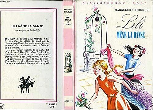 Amazon Fr Lili Mene La Danse Bibliotheque Rose