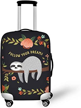 African American black women Washable Travel Luggage Cover Elastic Suitcase Trolley Protector Cover for 22-24 inch Luggage