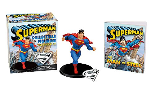 Superman: Collectible Figurine and Pendant Kit (Miniature Editions)