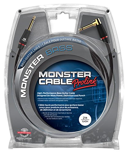 Monster BASS2 21A Bass Instrument Cable product image