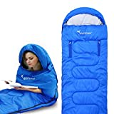 Cheap Sportneer Sleeping Bag Portable Single Sleeping Bag with Zippered Holes for Arms and Feet, 32 Degree