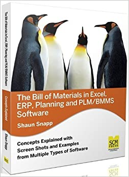 The Bill of Materials in Excel, Erp, Planning and Plm/Bmms Software by Snapp, Shaun (2012)