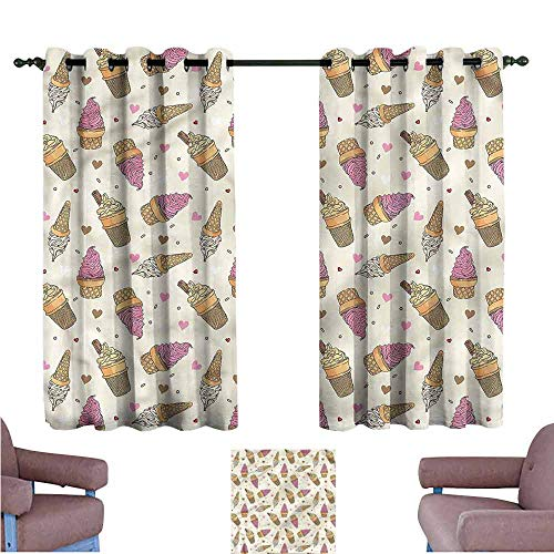 Curtain Call Costumes Order Form - Mannwarehouse Ice Cream Bedroom Windproof Curtain
