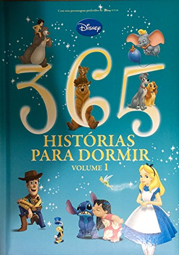 DCL Disney. 365 Histórias Para Dormir - Volume 1 (Capa Almofadada)