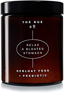 The Nue Co. - Debloat Food + Prebiotic | Supports Natural Gut Health + Rapid Relief from Bloating (Powder)