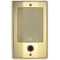 NuTone NDB300BB NM Series Door Speaker - Bright Brass Finish Nutone Intercom