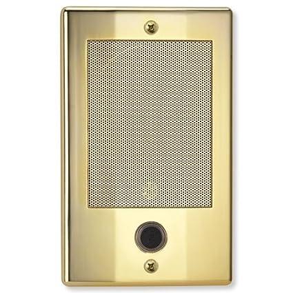 Merveilleux NuTone NDB300BB NM Series Door Speaker   Bright Brass Finish Nutone Intercom