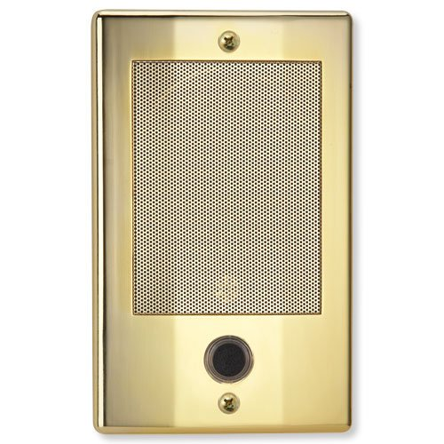 Series Door Intercom (NuTone NDB300BB NM Series Door Speaker - Bright Brass Finish Nutone Intercom)