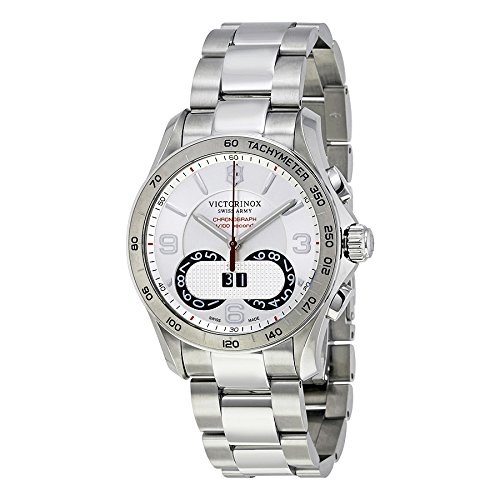 Victorinox-Mens-Chrono-Classic-Swiss-Quartz-Stainless-Steel-Casual-Watch-ColorSilver-Toned-Model-241704