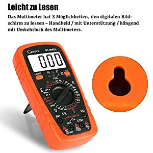 Haken der Amperemeter-Spur