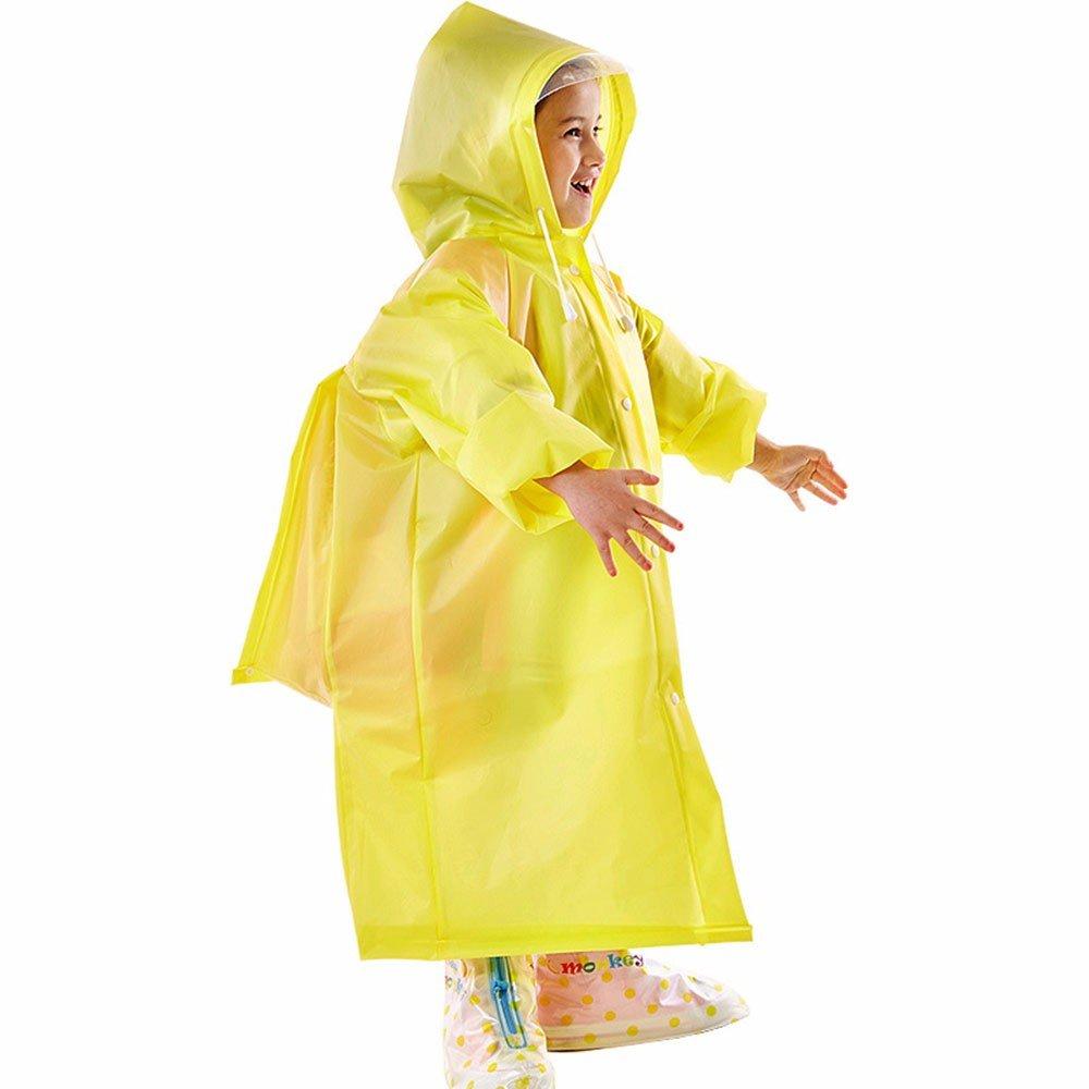 GAOLI Atmungsaktive Wasserdichte Regenjacke Eva Kinder