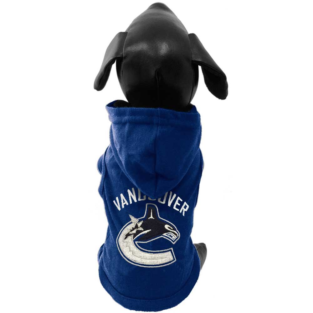 NHL Unisex NHL Vancouver Canucks Cotton Hooded Dog Shirt All Star Dogs Inc CH-VANCOUVER-P