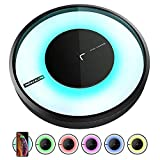 Wireless Charger, Qi-Certified Wireless Charging Pad Compatible for iPhone Xs Max/XS/XR/X/8/8 Plus, 10W Fast Charger Compatible for Samsung Galaxy S9/S9+/Note 9/S8/S8+/Note 8/S7 Edge and More