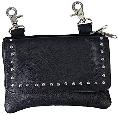 Black LADIES CLIP POUCH...