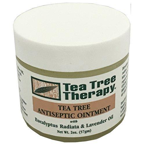 Tea Tree Oil Ointment 2 Ounces (2 Cream Salve Oz)