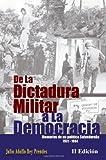 De la Dictadura Militar a la Democracia, Julio Rey Prendes, 1456327895