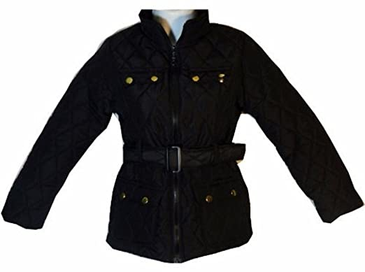 NEW GIRLS BLACK BACK TO SCHOOL JACKET COAT AGES 2 TO 13: Amazon.co ...