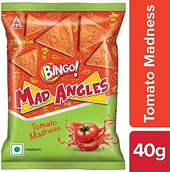 Bingo Mad Angles Tomato Madness Namkeen, 40g