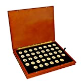 Complete Uncirculated Presidential Dollar Coins Set with Collector's Presentation Box (2007-2016)