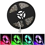 Avatar Controls Smart LED Light Strip, Waterproof Wifi Flexible Backlight Strip, RGB SMD 5050 300 LEDs Tape Lighting, Dimmable, 16million Color, 16.4FT/5M, APP Remote Control, Compatible with Alexa/ Google Home
