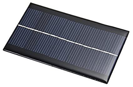Amazon.com: zeroyoyo 6 V 1 W luz solar panel módulo de ...
