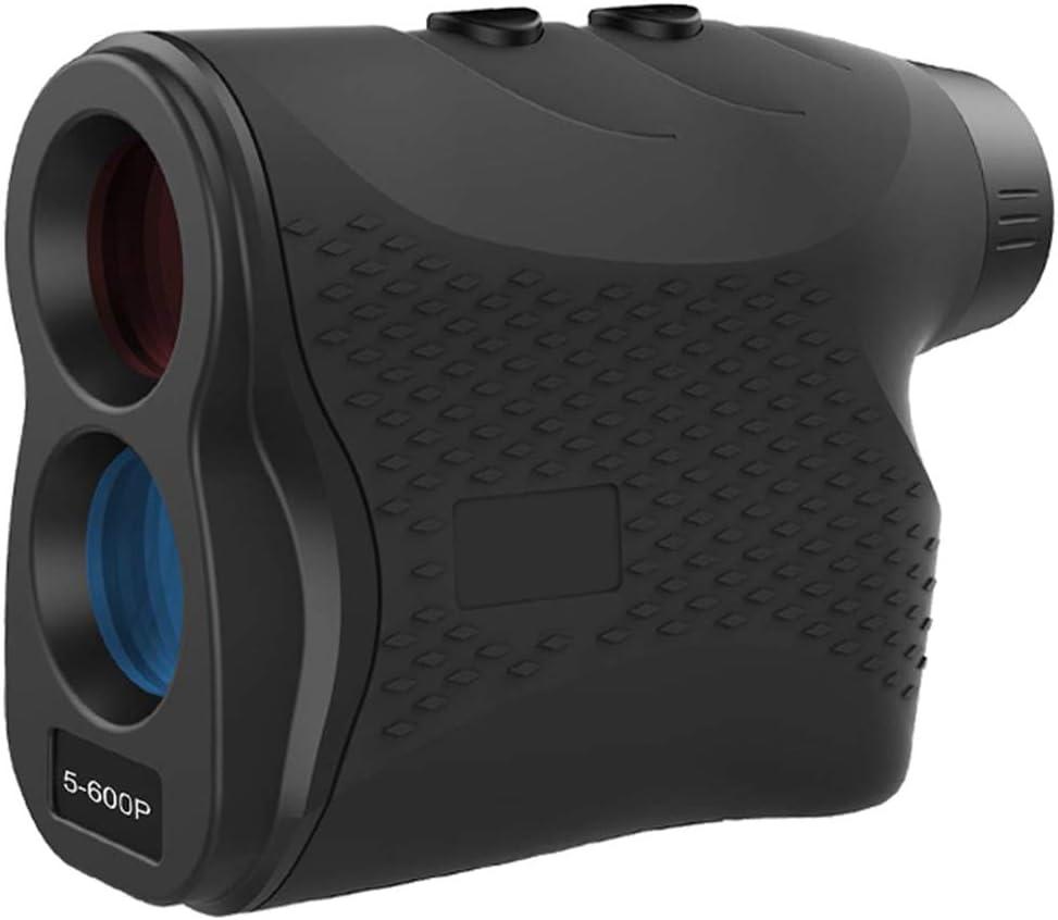 Amorom Golf Rangefinder, 656 Yards 6X Magnification Clear View Slope Laser Range Finder for Golf/Hunting with Flag-Lock, Fog, Distance and Speed Measurement