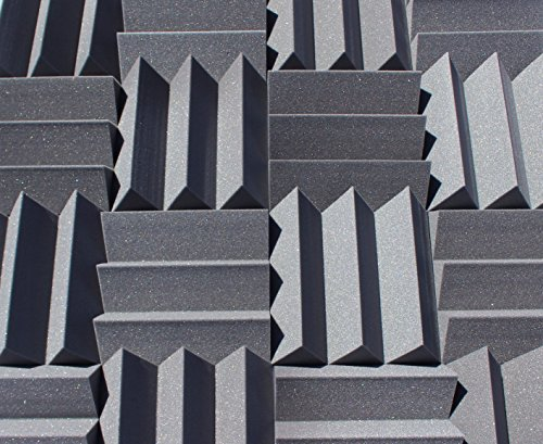 bass-absorbing-wedge-style-panels-soundproofing-acoustic-studio-foam-12x12x4-tiles-2-pack-diy