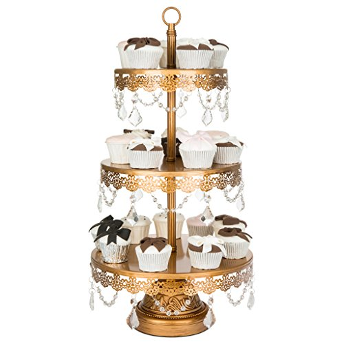 tall gold wedding cake stand antique gold 3 tier cupcake stand dessert cake 20738