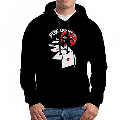 Amazon.com: Mens Sweatshir Poker Ninja Flex Custom Mens ...