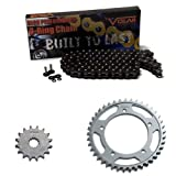2002-2008 Honda CB900F 919 O-Ring Chain and Sprocket Kit - Black