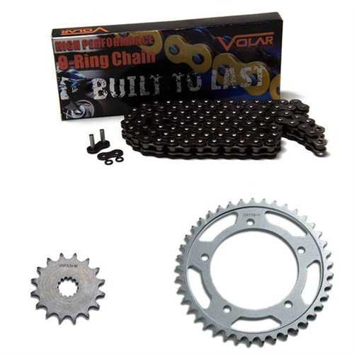 Honda Cbr600f3 Rear Sprocket - 1997-1998 Honda CBR600F3 O-Ring Chain and Sprocket Kit - Black