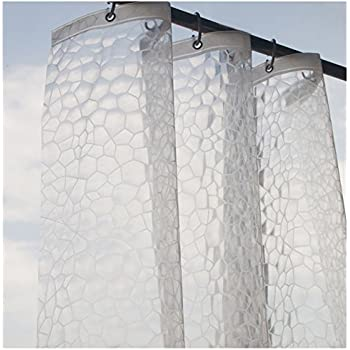 This Item Eforcurtain Eco Friendly Shower Curtain Liner , No Odors, Non  Toxic, No Chemicals, 100% EVA, Semi Transparent,Ideal For Kids, Use As  Standalone Or ...