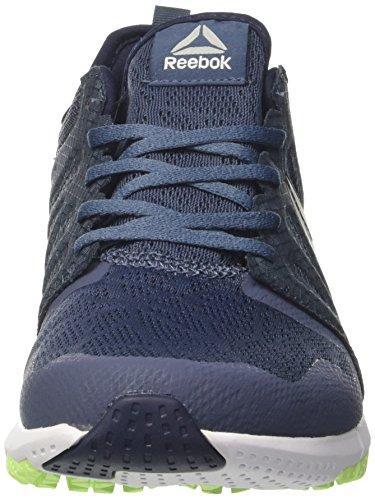 Coll Running Azul Zapatillas Reebok Elec Indigo Smoky Wht Pw 3D de Hombre Navy Flash para Zprint qx0ppIBvw