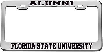 Elektroplate Florida State University Alumni License Plate Frame