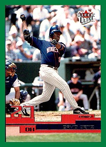 2003 Ultra #140 David Ortiz Minnesota Twins (BM Box111c)