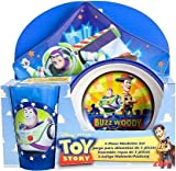 Disney / Pixar Toy Story 3-Piece Mealtime Set (Plate, Bowl and Tumbler)
