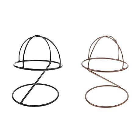2 Piezas Cabeza de Maniquí Modelo Display Rack Gorras Expositor de ...
