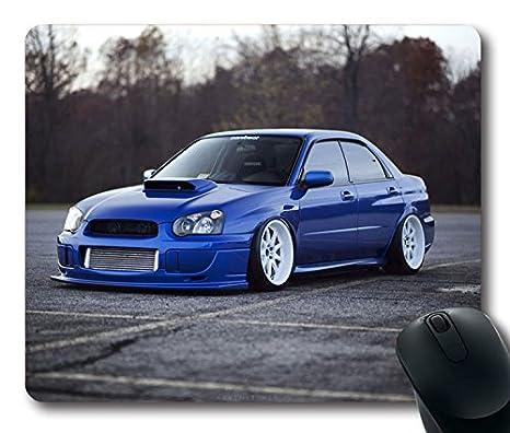 Subaru Wrx Custom >> Amazon Com Custom Fantasy Mouse Pad With Subaru Impreza