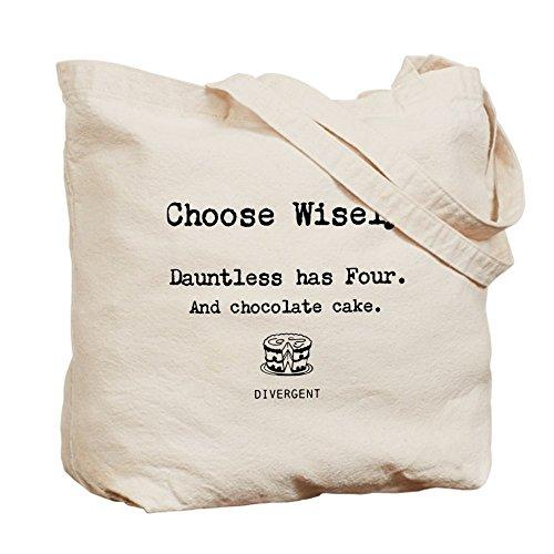 CafePress Tote Bag-Divergent-Scegli), motivo Funny Tote Bag